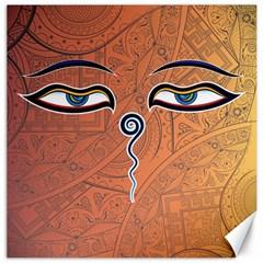 Face Eye Canvas 20  x 20
