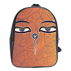 Face Eye School Bags(Large)