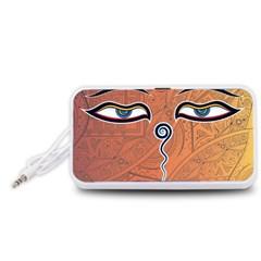 Face Eye Portable Speaker (White)