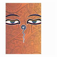 Face Eye Small Garden Flag (Two Sides)
