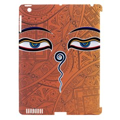 Face Eye Apple iPad 3/4 Hardshell Case (Compatible with Smart Cover)