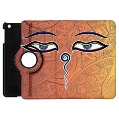 Face Eye Apple iPad Mini Flip 360 Case