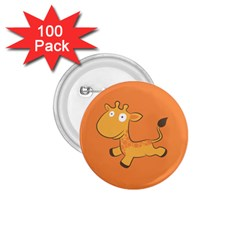 Giraffe Copy 1.75  Buttons (100 pack)