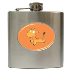 Giraffe Copy Hip Flask (6 oz)