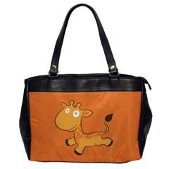 Giraffe Copy Office Handbags