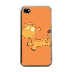 Giraffe Copy Apple iPhone 4 Case (Clear)