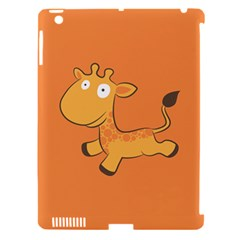 Giraffe Copy Apple iPad 3/4 Hardshell Case (Compatible with Smart Cover)