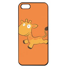 Giraffe Copy Apple iPhone 5 Seamless Case (Black)