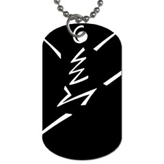 Great Gig Dance Dog Tag (One Side)