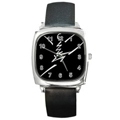 Great Gig Dance Square Metal Watch