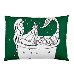 Green Mermaid Pillow Case (Two Sides)