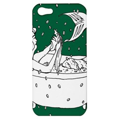 Green Mermaid Apple iPhone 5 Hardshell Case