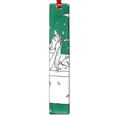 Green Mermaid Large Book Marks
