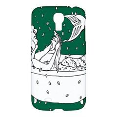 Green Mermaid Samsung Galaxy S4 I9500/I9505 Hardshell Case