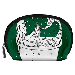 Green Mermaid Accessory Pouches (Large)