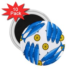Mackerel meal 2 2.25  Magnets (10 pack)