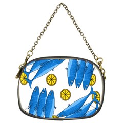 Mackerel meal 2 Chain Purses (Two Sides)