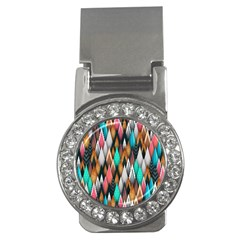 Background Pattern Abstract Triangle Money Clips (CZ)