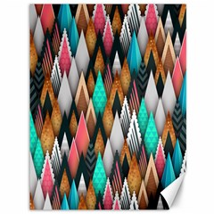 Background Pattern Abstract Triangle Canvas 36  x 48