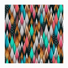 Background Pattern Abstract Triangle Medium Glasses Cloth