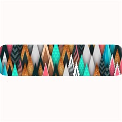Background Pattern Abstract Triangle Large Bar Mats