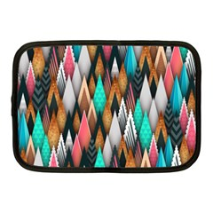 Background Pattern Abstract Triangle Netbook Case (Medium)