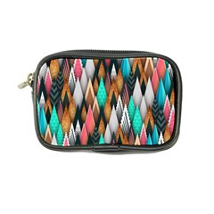 Background Pattern Abstract Triangle Coin Purse