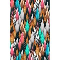 Background Pattern Abstract Triangle 5.5  x 8.5  Notebooks