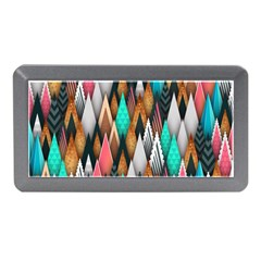 Background Pattern Abstract Triangle Memory Card Reader (Mini)