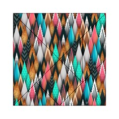 Background Pattern Abstract Triangle Acrylic Tangram Puzzle (6  x 6 )