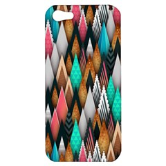 Background Pattern Abstract Triangle Apple iPhone 5 Hardshell Case