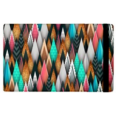 Background Pattern Abstract Triangle Apple iPad 3/4 Flip Case