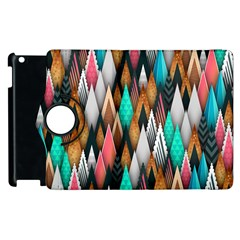 Background Pattern Abstract Triangle Apple iPad 3/4 Flip 360 Case