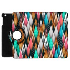 Background Pattern Abstract Triangle Apple iPad Mini Flip 360 Case
