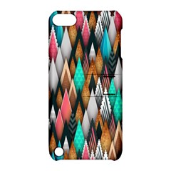 Background Pattern Abstract Triangle Apple iPod Touch 5 Hardshell Case with Stand