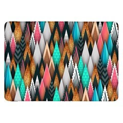 Background Pattern Abstract Triangle Samsung Galaxy Tab 8.9  P7300 Flip Case