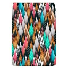 Background Pattern Abstract Triangle Flap Covers (L)