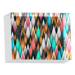 Background Pattern Abstract Triangle 5 x 7  Acrylic Photo Blocks