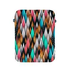 Background Pattern Abstract Triangle Apple iPad 2/3/4 Protective Soft Cases