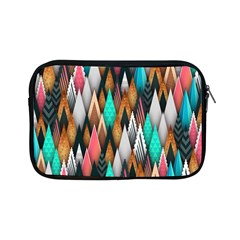 Background Pattern Abstract Triangle Apple iPad Mini Zipper Cases