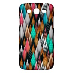 Background Pattern Abstract Triangle Samsung Galaxy Mega 5.8 I9152 Hardshell Case