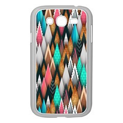 Background Pattern Abstract Triangle Samsung Galaxy Grand DUOS I9082 Case (White)