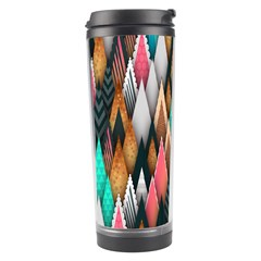 Background Pattern Abstract Triangle Travel Tumbler