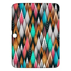 Background Pattern Abstract Triangle Samsung Galaxy Tab 3 (10.1 ) P5200 Hardshell Case