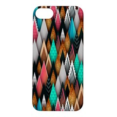 Background Pattern Abstract Triangle Apple iPhone 5S/ SE Hardshell Case