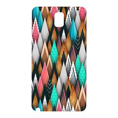 Background Pattern Abstract Triangle Samsung Galaxy Note 3 N9005 Hardshell Back Case