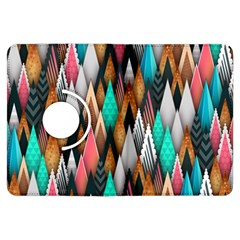 Background Pattern Abstract Triangle Kindle Fire HDX Flip 360 Case