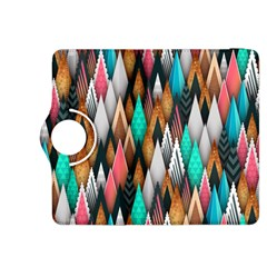 Background Pattern Abstract Triangle Kindle Fire HDX 8.9  Flip 360 Case
