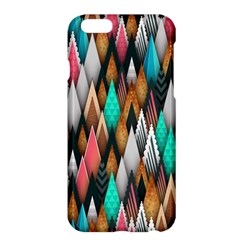 Background Pattern Abstract Triangle Apple iPhone 6 Plus/6S Plus Hardshell Case