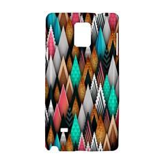 Background Pattern Abstract Triangle Samsung Galaxy Note 4 Hardshell Case